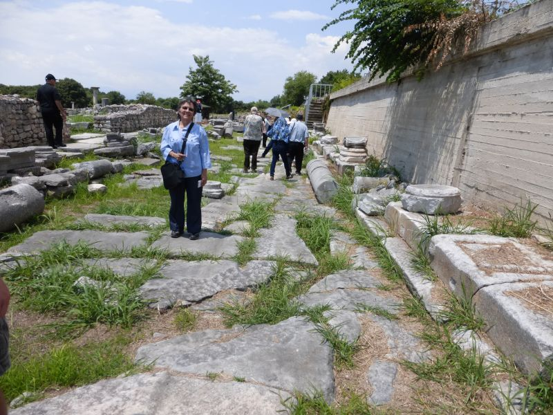 007_201507.05r Greek road Paul walked on from Philippi