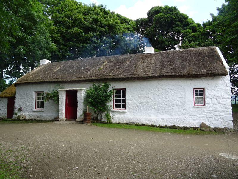 13 201707.05 Omagh - Ulster Folk Museum - Old Mellon Home (1)