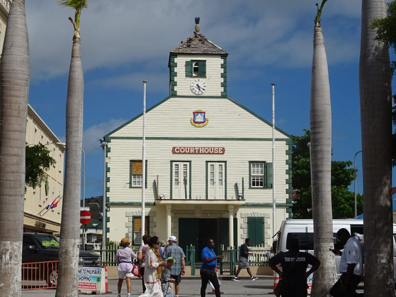 Philipsburg, St Martin Courthouse